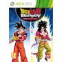 Jogo Dragon Ball Z Budokai Hd Collection (novo) Xbox 360