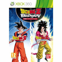 Jogo Dragon Ball Z Budokai Hd Collection (novo) Xbox 360