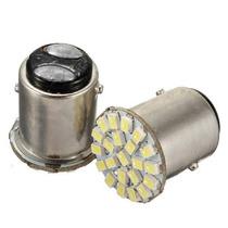 Kit 10 Lampada Led 2 Polos Lanterna Freio Luz Branca
