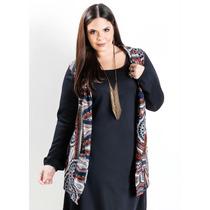 Bata Colete Kimono Plus Size Gordinha Linda Mandalas #promo