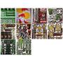 Hoja Sticker Monster Rockstar Redbull Moto Notebook 26x17
