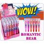 Wow Romantic Bear Labial Original Tinta Lip 24 Piezas