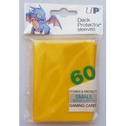 Micas Ultra Pro Small Deck Protector Yellow - Amarillo