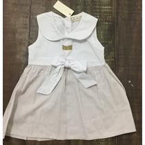 Vestido De Bebe Niña Talla 1 Año (12 Meses) Nuevo Bautizo