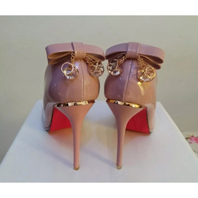 Sapato Scarpin Importado Excluisivo Sola Vermelha
