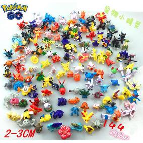 Kit 144 Pokemons Bonecos Miniaturas 2 - 3cm Festa Pikachu