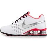 Tenis Feminino Nike Shox Deliver Branco Rosa Original + Nf