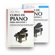 Kit - Livros Leila Fletcher - Curso De Piano Adulto 1 E 2
