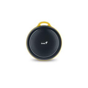 Parlante Bluetooth Recargable Genius Sp-906bt Negro