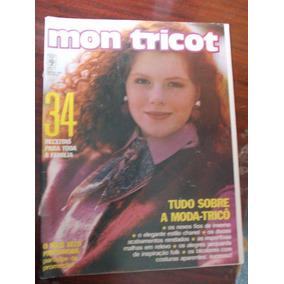 Revista Mon Tricot Trico E Croch  N  34 - Revistas no Mercado ... 6923ab8d99e