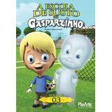 Dvd A Escola De Susto Do Gasparzinho Volume 3