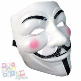 Mascara Anonymus V De Venganza V De Vendetta Pvc Rígida Mirá