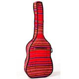 Funda De Guitarra De Aguayo Acolchonada - Varios Colores