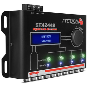 Processador Stetsom Stx2448 Toca+q Banda Taramps Soundigital