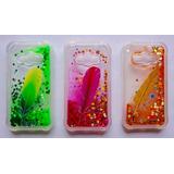 Capinha Capa Case Galaxy J1 Ace Duos Aquario Glitter Stras