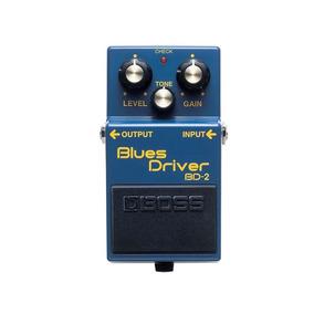 Bd-2 Blues Driver Pedal Boss De Efeito Guitarra + Garantia