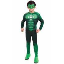 Fantasia Infantil Lanterna Verde Hal Jordan Rubies