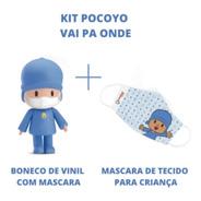 Boneco De Vinil Pocoyo Cardoso Toys Edição Limitada
