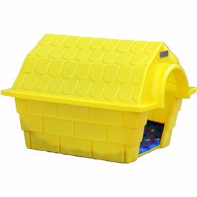 Casinha Dog House Grande - Amarelo
