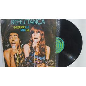 Lp Refestança. Gilberto Lee Rita Gil. 1977