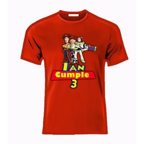 Playera O Camiseta Personalizada Toy Story Todas Tallas!!!