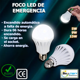 Foco Emergencia Led 7w,9w,15w