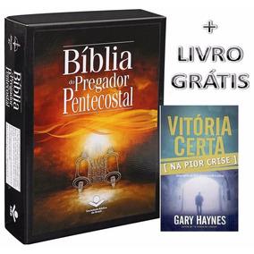 Bíblia Do Pregador Pentecostal Preta Frete Grátis+ Curso