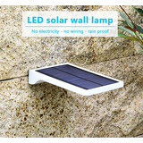 Foco Led Luz Panel Solar Sensor De Movimiento Exteriores