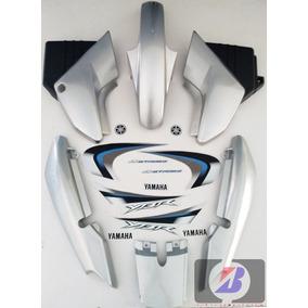 Kit Carenagem Yamaha 2008 Ybr 125 Prata 08 C - Adesivo