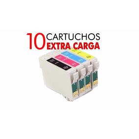 10 Cartuchos Compatibles Epson T25 Tx123 Tx125 Tx133 Tx135