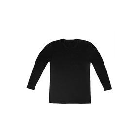 Camiseta Hombre Manga Larga O / V Termico - Tres Ases