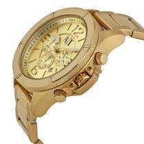 Relógio Exchange Armani Ax1504 Dourado