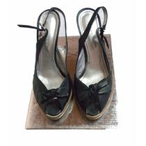 Sandalias Marca Sarkany Color Negro