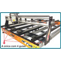 Cnc Router Area 1.700x2.100mm Com Servo Motores.