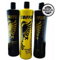 Kit Profissional Blindagem Dos Fios Coiffer + Bolsa + Brinde
