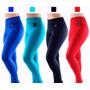 Kit 5 Calça Leg Suplex Legging Fitness/academia