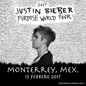 Justin Bieber Boletos Monterrey