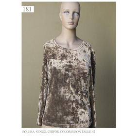 Saco Saquito Sweater Chaleco Mujer Feria Americana Marrón