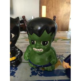 Alcancia Hulk 10cm . 12 Piezas