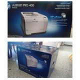 Impresora Hp Laser-jet Pro 400 Color M451dw (ce958a) Wifi