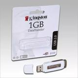 Pen Drive 1gb Kingston Datatraveler Na Blister Novo Origina