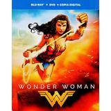 Mujer Maravilla Wonder Woman 2017 Steelbook Blu-ray