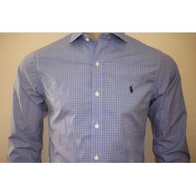 Camisa Social Masculina Polo Ralph Lauren Slim Fit Original