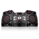 Minicomponente X Boom Lg Cm8340 Bluetooth Karaoke Usb 17000w