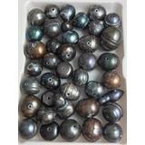ae3f5386e63d Perla Cultivada Negra Para Bisuteria Por Docena