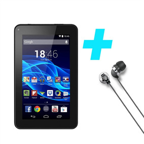 Tablet M7s Com Fone De Ouvido - Conjunto Multilaser Preto