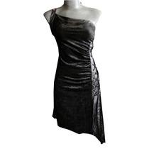 Vestido Gotico Tipo Corset Terciopelo Encaje Goth