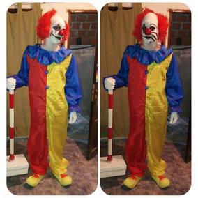 Disfraz Payaso Maldito Asesino Terror Halloween Adulto /niño