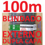 Cabo Rede Cat5e Preto 100m Ftp Externo Dc Blindado Condutti