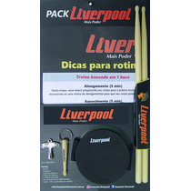 Pad De Treinamento Com Acessórios Para Baterista Liver Pack
